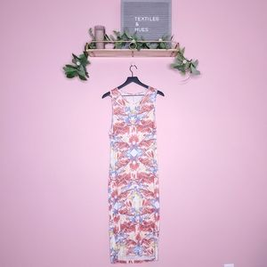 Free People Sleeveless Floral Maxi Dress